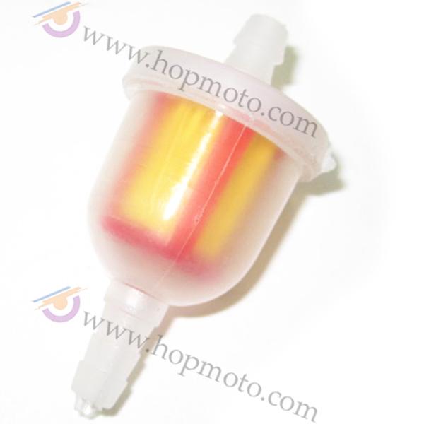 Plastic Fuel filter for pocket bike dirt bike scooter engine oil filter(China (Mainland))