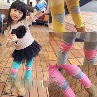 Free shipping New Girls Casual Slim Heart Shaped Skinny Leggings Kids Pants Size 2-7 Years