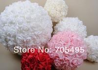 HOT SALE!!! Free Shipping 5'' 13cm Wedding Foam Rose Flower Ball Foam Inside