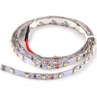 3FT 1M 12V Flexible 60 LED 1210 SMD Strip Light White 2 Car Decoration Light New