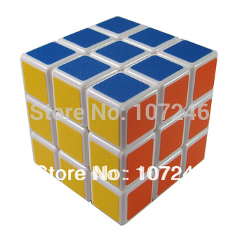 10pcs/lot Novelty Sheng-shou Cubes 3x3x3 Spring Magic Puzzle cubes Children Fancy Toy Birthday Christmas Gift Free Shipping