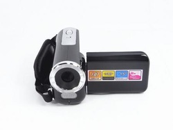 "NEW HD Mini Digital Video Camera DV Camcorder 16MP 8x Zoom 1.5""LCD DV Silver black red(China (Mainland))"