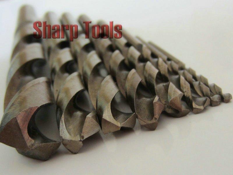 Cobalt Metal Drill Bits 6mm Cobalt Twist Drill Bits