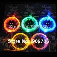 Free Shipping New design fashion hot sale LED Shoelace,light up high quality led shoelace