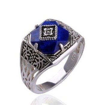 Vampire Diaries Vintage Silver Damon's Verbena Ring