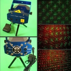 Red Green Mini Stage Star Laser Light For Christmas Party Twinkle Laser For Party And Club Disco(China (Mainland))