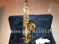 High grade professional alto saxophone like Selmer Paris Reference YAS54 Gold lacquer