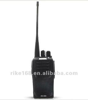 Freeshipping High quality uhf 400-470Mhz 8W high power long range walkies talkies two way radio RK-866