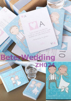 A Love Story Playing Cards, wedding gifts ZH024@http://shop72795737.taobao.com