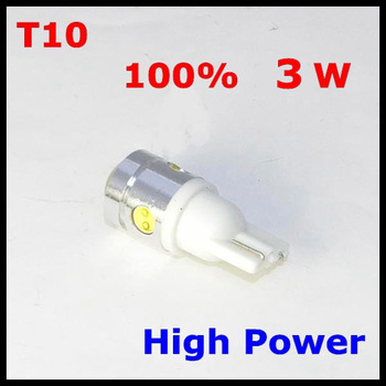 20PCS T10 W5W 4 SMD LED Car Wedge Light 3W High Power White Lamp Bulb 250LM