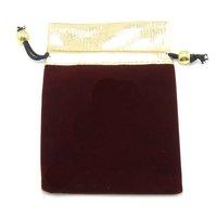 Free Shipping 100pcs/lot Black Velvet Jewelry Gift Bags Pouches 2.5''X3.5'' B09