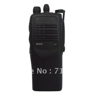 Free shipping GP340 VHF 136-174MHz Handheld Two-way radio 10KM walkie talkie 16CH high quality portable ham radio