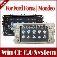Car DVD Player for Ford Focus Mondeo Galaxy S-Max Connect with GPS Navigation Stereo Radio Bluetooth TV USB AUX Map Audio Video