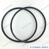 26 inch 30mm Wide Rims Carbon Mountain Bike Clincher 20mm Front and Rear MTB Carbon Wheel Rims 32h/32h