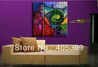 Large Handmade Modern Canvas Oil Painting Wall Art ,Free Shipping Worldwide JYJD013