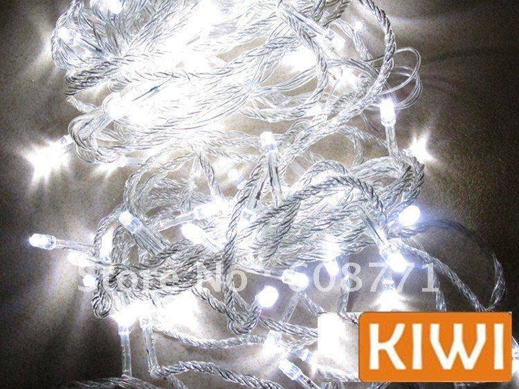 Sapin Blanc Led Blanc Twinkle Fête de Noël Led