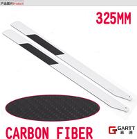 Freeshipping GARTT GT450 (3 Pairs 6 Pieces /Lot ) 325mm Carbon Fiber Main Blades 100% Compat Align Trex 450