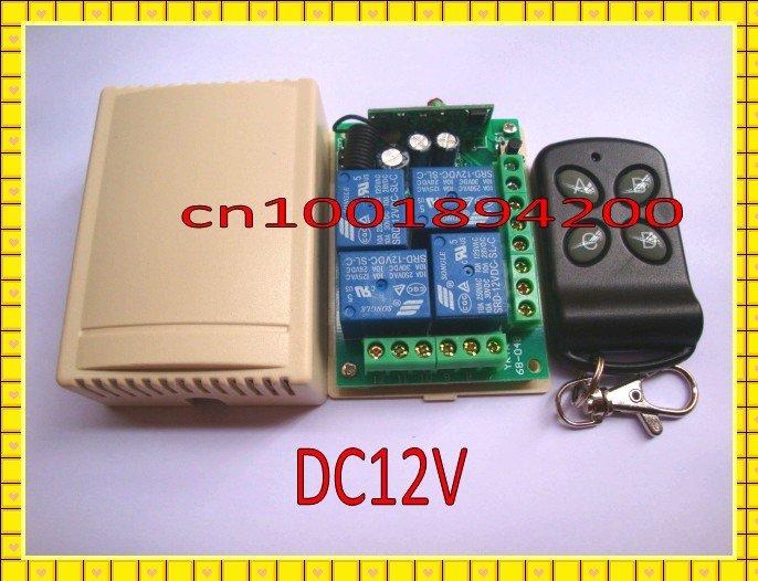 Дистанционный выключатель 4 CH DC12V & , SMD дистанционный выключатель dc12v 4