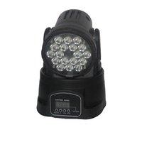 led mini moving head wash light (18*3w RGB) yoke color DJ party stage lighting  DMX