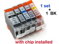 6 pcs New Compatible ink cartridge for Canon PIXMA Printer IP4200 IP3300 MP500 MP960 MP970 PGI-5/CLI-8