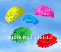 Whole sale 2012 new design 190*140cm flower umbrella kite with small villain