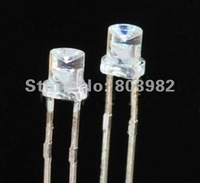(CE&Rosh)3mm Flat top concave Red led 615-630NM 1.7-2.2V led diode