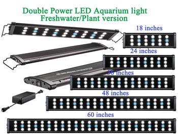 "36""-48""(90CM-120CM) Doulbe Power  LED Aquarium/Fish tank LED light/lighting fixture/lamp ing by Beamswork/Odyssea/Plant Version"