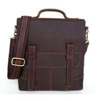 Item 6034R ,New arrival Men's fashion genuine leather handbags ,mens leather messenger bag shoulder bag ,