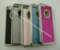 *10pcs/lot* Multi Color Luxury Bling Glitter Diamond Chrome Hard Case Deluxe Cover For iPhone 5S 5G