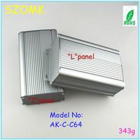 (4piece ) DIY aluminum extrusion enclosures 55*95*150 mm 2.17*3.74*5.91inch    amplifier enclosure