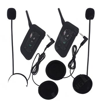 20PCS Bluetooth Helmet Headset for Motorcycle BT Interphone Motorbike Intercom for 6 Riders Wireless Waterproof EMS/DHL FREE!