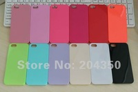 12 colors Hard Plastic Case for iphone 5 5S Candy Case for iphone 5 5S via DHL 200pcs/lot
