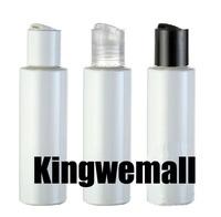 300pcs/1lot.100ml PET plastic white bottle.press cap.Mask Shampoo Hand cream Lotion bottle.Beauty package