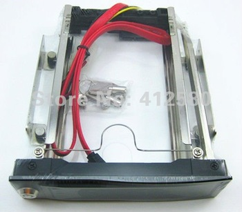 "Free Shipping ! 3.5"" SATA 2 HDD Rom Hard Drive Disk iswap 1000 Aulminum Mobile Rack"