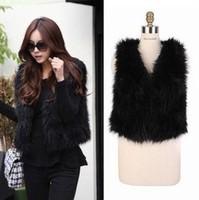 Free shipping Vivi hot-selling fur vest fur coat vest female