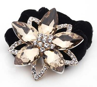 New 2014 Crystal hair accessories for the hair rope the flowers autumn rhinestone headbands for woman diamond korean style dress