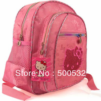 Hot sale child backpack HELLO KITTY backpacks Kindergarten bag, Cartoon Lovly school bag for kids travel bag Free shipping