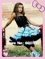 Hot sale Pettiskirt Baby Girl fluffy Chiffon pettiskirts Girl's Cute dancing tutu Skirts mix color freeshipping