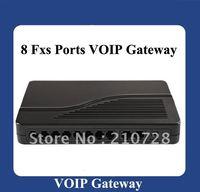 FREEshipping 8-Fxs Ports VoIP Gateway (HT-882)| 8S VOIP IP PHONE|DBL VOIP GATEWAY