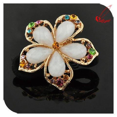 News Style Fashion Flower Cute Jewelry Bridal Hair pins Hair Accessaries SF001(China (Mainland))