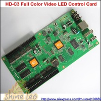 HD-C3 Full Color LED Control Card USB+Ethernet Port Support P3,P4,P5,P6,P7.62,P10,P12,P16,P20 LED Module