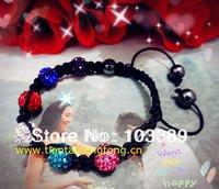 disco bead shamballa bracelet