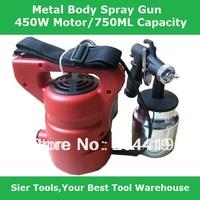 Nes Arrival 450W Electric Spray Gun/750 ml Air Paint Spray Gun/Max to 200ml per min air flow