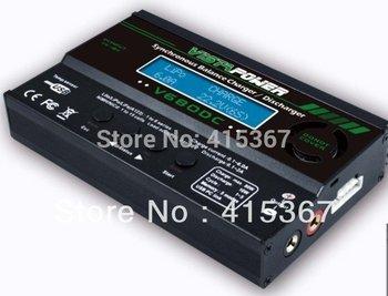 free shipping EV-PEAK DC balance charger  V680DC  with an USB port 80W/6A for LiPo/Li-ion/NiMH/NiCd battery