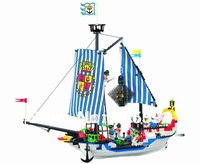 No 305 Pirates SeriesEnlighten Building Block Set Construction Brick Educational toy compatible with  without original box