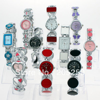 Mixed lots 10PCS Colorful Lady Women Quartz Movement Wrist Watch Gift JB1M