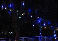 110V 220V 30cm LED Meteor Shower Rain Tube Lights Outdoor Tree Decoration Christmas lights 10pcs/lot