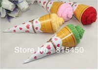 Free shipping cake towel - mini ice cream shape Christmas gift Wedding gifts
