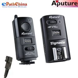 Aputure MX1S Trigmaster Radio Wireless Remote Flash Trigger and Shutter Cable Release For Sony Camera, Free Shipping(China (Mainland))