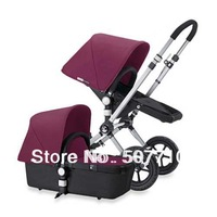 Big promotion before Chinese Festival, bugaboo cameleon stroller with purple top and black base